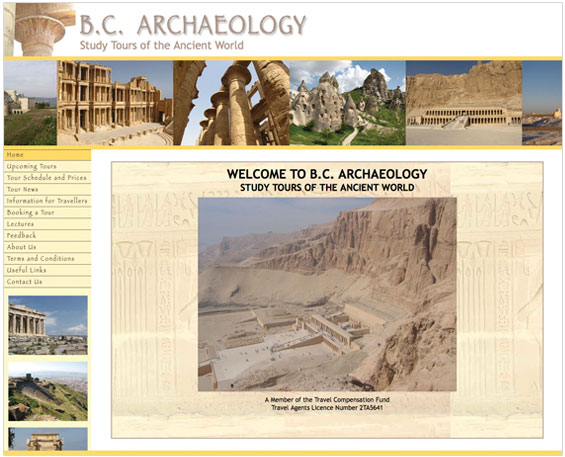 B.C. Archaeology website