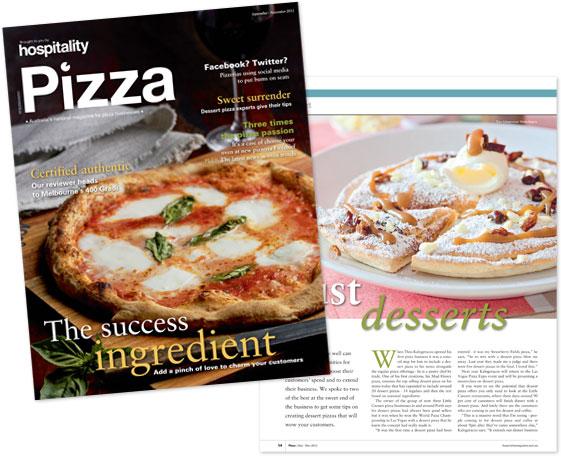 The Original Jubie - Hospitality Pizza magazine