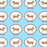 Sausage dog pattern
